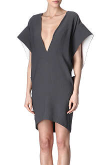 THIERRY MUGLER V-neck dress