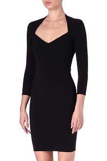 THIERRY MUGLER Scoop-neck dress