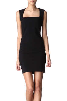 THIERRY MUGLER Square-neck dress