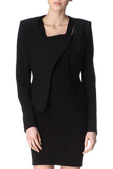 THIERRY MUGLER Asymmetric-collar jacket