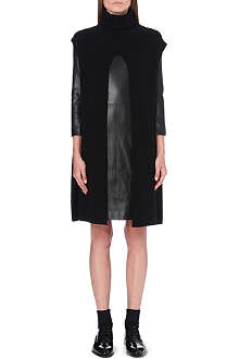 THE ROW Petra split cashmere jumper