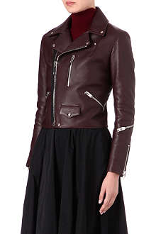 YANG LI Perfecto leather biker jacket