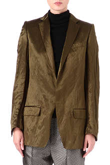 HAIDER ACKERMANN Wool and silk-blend blazer