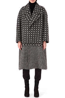 HAIDER ACKERMANN Oversized tweed coat