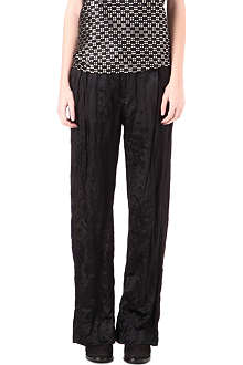 HAIDER ACKERMANN Silk wide-leg trousers