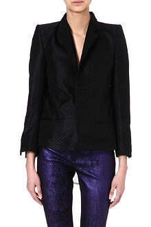 HAIDER ACKERMANN Textured silk blazer