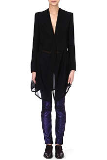 HAIDER ACKERMANN Cropped wool jacket