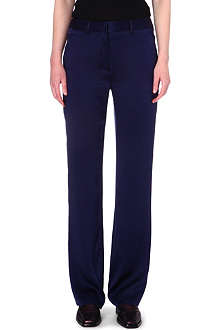 HAIDER ACKERMANN Straight-leg silk trousers