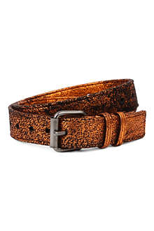 HAIDER ACKERMANN Metallic leather belt
