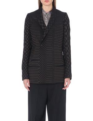 HAIDER ACKERMANN Geometric-jacquard blazer