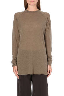 HAIDER ACKERMANN Wool-blend jersey top