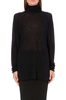 HAIDER ACKERMANN Long sleeved jersey jumper