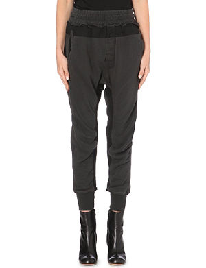 HAIDER ACKERMANN Fade jersey jogging bottoms