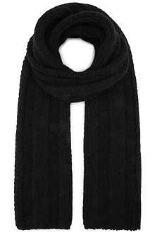 HAIDER ACKERMANN Mohair chunky-knit scarf