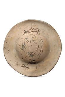 RICK OWENS Masters medium bronze plate