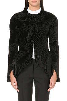 THOM BROWNE Paisley velvet jacket
