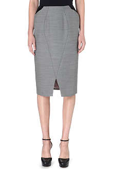 THOM BROWNE Seamed pencil skirt