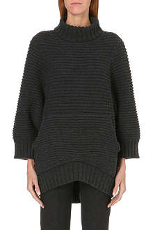 CHALAYAN Ribbed wool and cashmere jumper