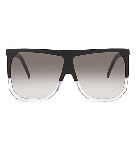 LOEWE SLW943 Filipa D-frame sunglasses (Black