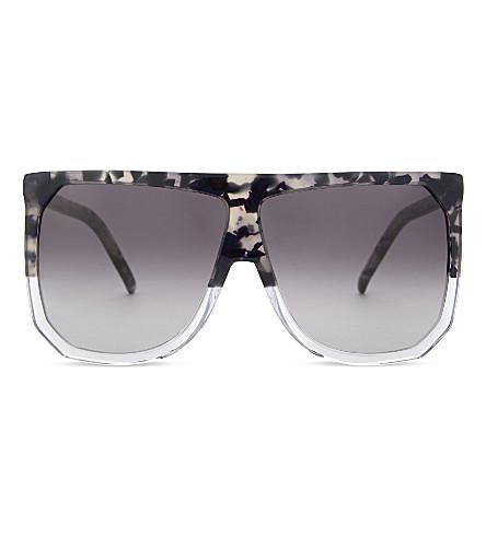 LOEWE SLW943 Filipa D-frame sunglasses (Havana/blue