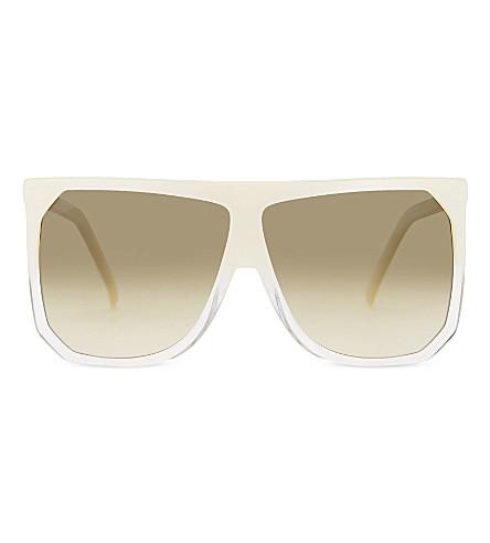LOEWE SLW943 Filipa D-frame sunglasses (Mother+of+pearl