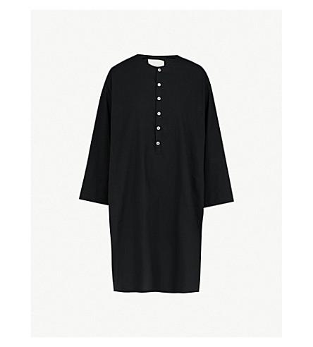 TOOGOOD The Baker cotton-poplin shirt (Coal