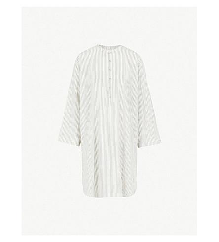 TOOGOOD The Baker cotton-blend shirt (Coal