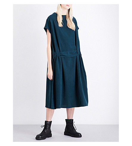 TOOGOOD The Cheesemonger silk dress (Pine
