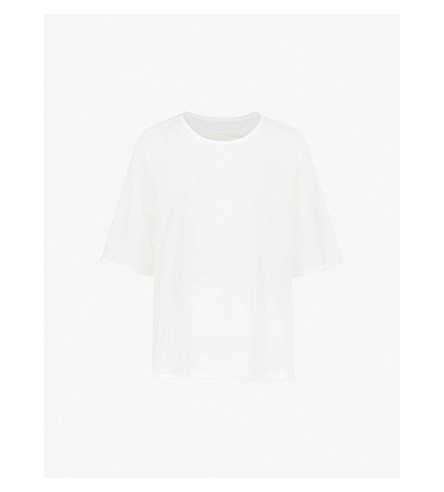 TOOGOOD The Printer cotton top (Milk