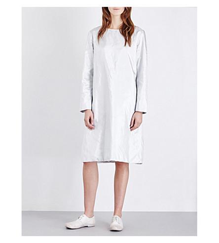 TOOGOOD The Printer cotton tunic dress (Silver