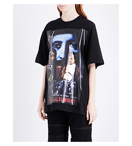 Y/PROJECT Napoleon oversized cotton-jersey T-shirt (Black