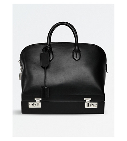 CALVIN KLEIN 205W39NYC Bugatti leather bag (Black
