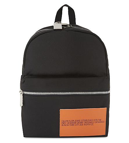 CALVIN KLEIN 205W39NYC Logo backpack (Black