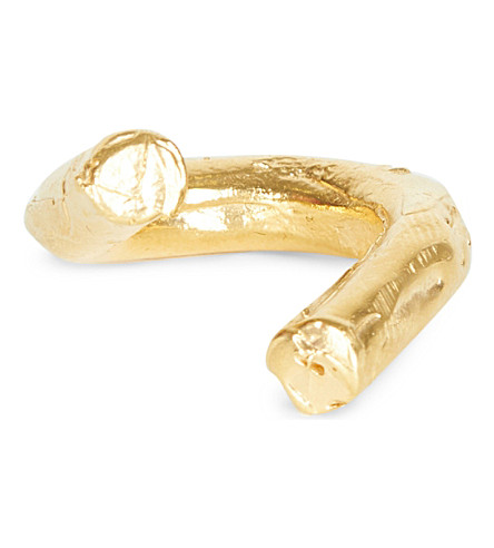 ALIGHIERI Trembling Sky 24kt gold-plated ring (Gold