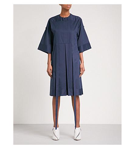 OMER ASIM Aragee cotton dress (Navy