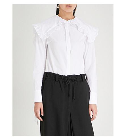 Camille CECILIE shirt cotton BAHNSEN CECILIE cotton poplin shirt CECILIE BAHNSEN poplin White White Camille BAHNSEN FtwRy0HqSW