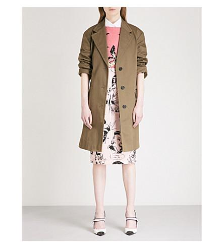 PRADA Angela cotton coat (Mimetico