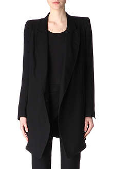ANN DEMEULEMEESTER Light wool blazer