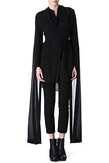ANN DEMEULEMEESTER Statement split-sleeves bolero