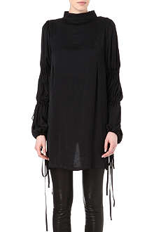 ANN DEMEULEMEESTER Washed-satin shirt