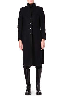 ANN DEMEULEMEESTER Split-detailed coat