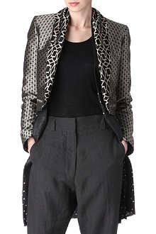 HAIDER ACKERMANN Cropped jacquard jacket