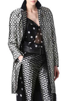 HAIDER ACKERMANN Star jacquard coat