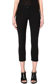 ANN DEMEULEMEESTER Cropped slim trousers