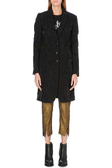 ANN DEMEULEMEESTER Paisley embroidered coat