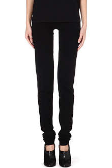 ANN DEMEULEMEESTER Slim-fit leggings
