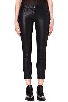 ANN DEMEULEMEESTER Peltry slim-fit trousers