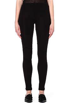 ANN DEMEULEMEESTER Semi-sheer skinny trousers