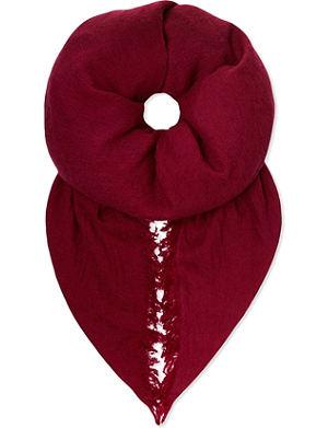ANN DEMEULEMEESTER Fringed scarf