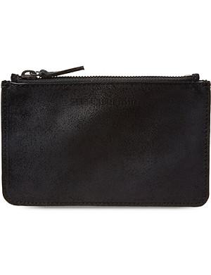 ANN DEMEULEMEESTER Leather coin purse